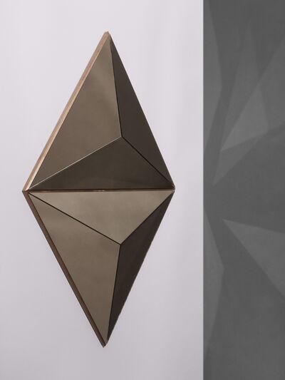 Robert Sukrachand, 'Volume Bronze Convex Pair Mirror', 2017