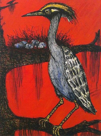 Frank X. Tolbert, 'Yellow-crowned Heron ', 2015