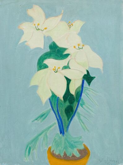 Sally Michel, 'White Flowers', 1973