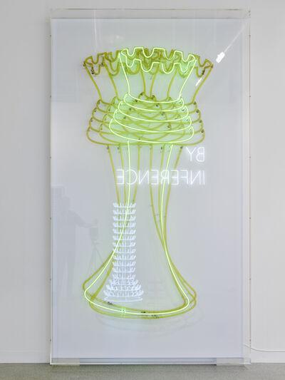 Bethan Huws, 'Neon Queen', 2017