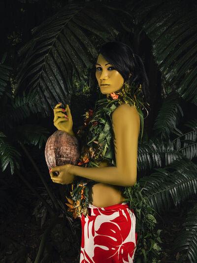 Namsa Leuba, 'La femme à la noix de coco', 2019