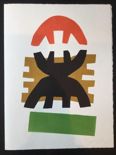 Giuseppe Capogrossi, 'Greeting Card', 1970