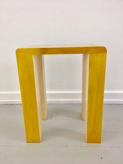 Kueng Caputo, 'Silo Stool - Yellow', 2017