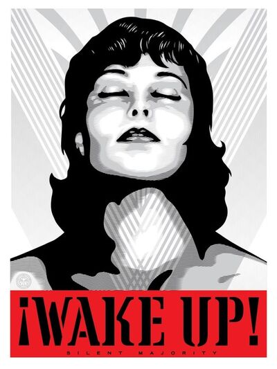 Shepard Fairey (OBEY), '¡Wake Up!', ca. 2018
