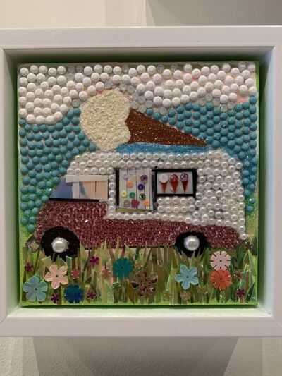"Holly Suzanne Rader, '""Ice Cream Truck""', 2019"