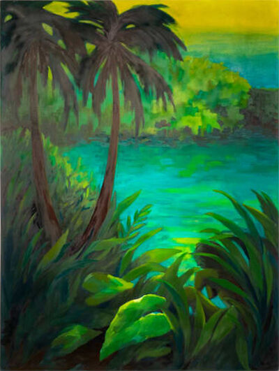 Adrienne Elise Tarver, 'Untitled (Tropical Landscape)', 2020