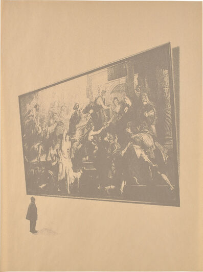 Cheyney Thompson, 'Property Owner in the Louvre Looking at Bellona. No Response', 2006