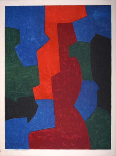 Serge Poliakoff, 'Untitled (After)', 1975
