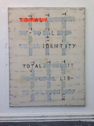 Fabian Herkenhöner, 'Untitled (Total Identity Total Lie)', 2019