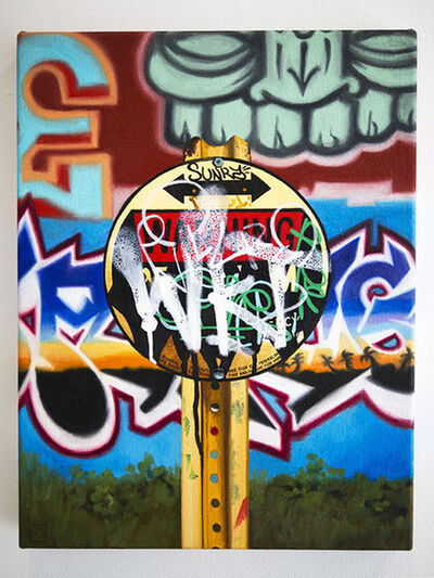 Jessica Hess, 'Warning', 2014