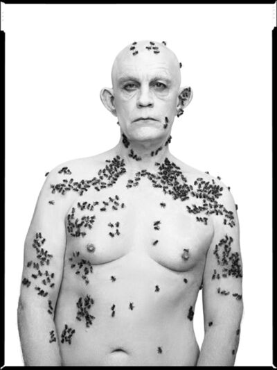 Sandro Miller, 'Richard Avedon/Ronald Fischer, Beekeeper, Davis, California, May 9 (1981)', 2014