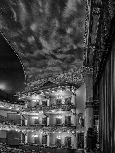 Myrtie Cope, 'Grand Opera House, Box Seats and Stage', 2019
