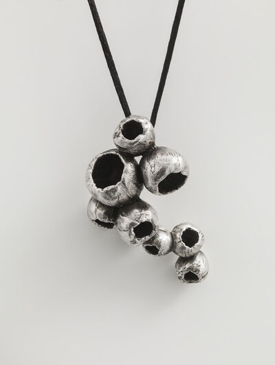 Susie MacMurray, 'Silver Carapace IV (Pendant)', 2020