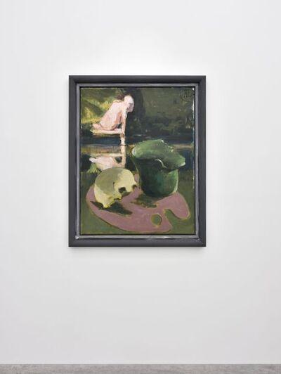 Markus Lüpertz, 'Palette (Arkadien) Altrosa', 2018