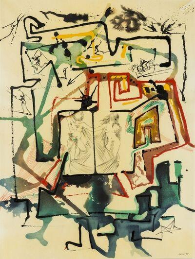 Salvador Dalí, 'Le Labyrinthe (Field 75-12G; M&L 844a)', 1976