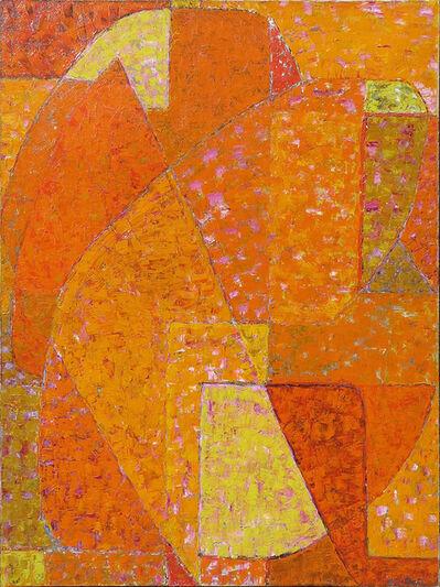 Alexandre Istrati, 'Composition Orange', 1951