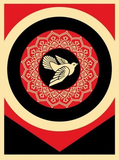 Shepard Fairey, 'Peace Dove Red & Black', 2011