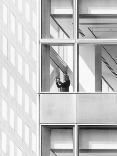 Mårten Lange, 'Woman with phone', 2015