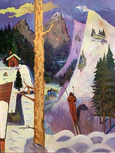 Aaron Zulpo, 'The Skier', 2018