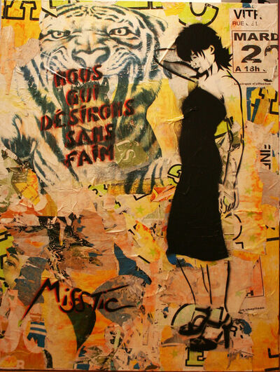 Miss Tic, 'Nous qui désirons sans faim', 2006