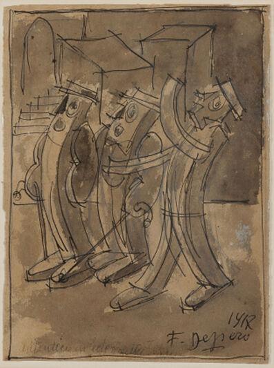 Fortunato Depero, 'Senza titolo', 1917