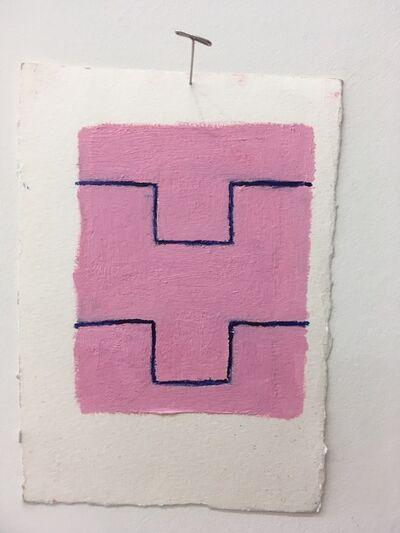 Chris Esposito, 'Pink: blue (Y)', 2019