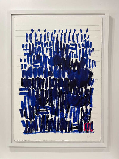 Colleen Leach, 'Cobalt Grand Linear', 2021