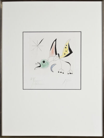 "Joan Miró, 'Bird from ""Bague d'Aurore""', 1957"