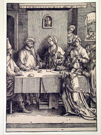 Lucas van Leyden, 'Salome presenting Herod with the Head of St.John the Baptist', 1512