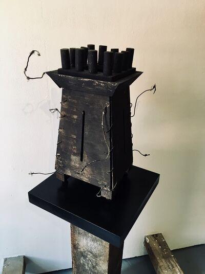Kelly Bugden + Van Wifvat, 'Whimsical Wooden Sculpture: 'Fortress'', 2018