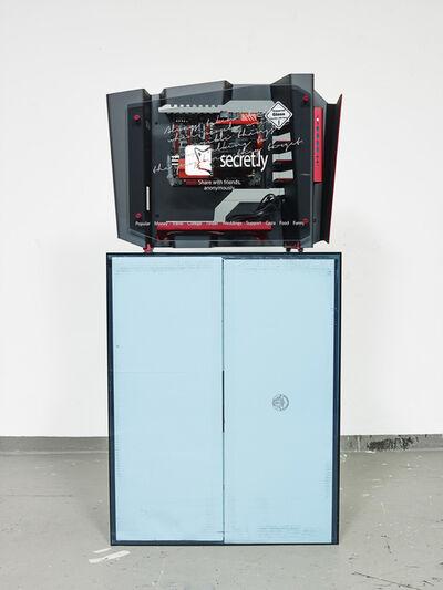 Simon Denny, 'Startup Case Mod: Secret', 2014