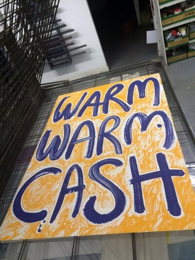 Ciara Phillips, 'Warm Warm Cash', 2015