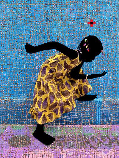 Saidou Dicko, 'The yellow princess Act 2', 2021