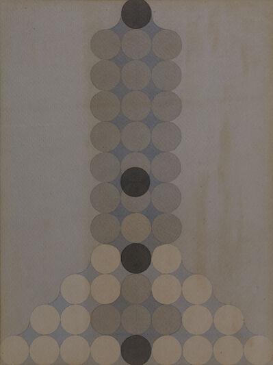 Carlo Nangeroni, 'Mutazioni Per Scorrimento', 1970