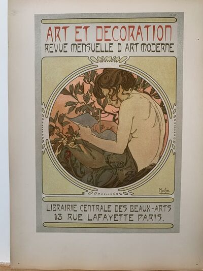 Alphonse Mucha, 'Documents Décoratives', 1905