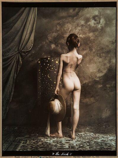 Jan Saudek, 'La Nuit, Model print', 1990