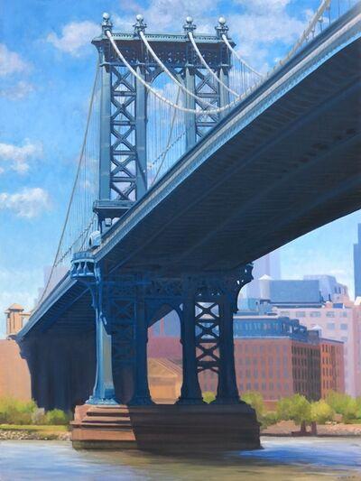 Stephen Magsig, 'Manhattan Bridge Shadows'