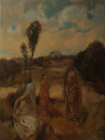 Mozes Incze, 'Wonderers', 2012
