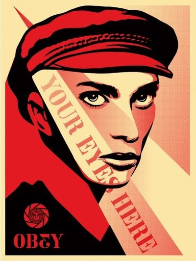 Shepard Fairey, 'Your Eyes Here', 2010