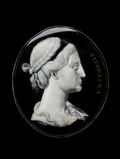 Jean II Penicaud, 'An enamelled plaque depicting Cleopatra in profile', Mid, 16th century, probably 1540s
