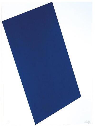 Ellsworth Kelly, 'Blue (for Leo)', 1997