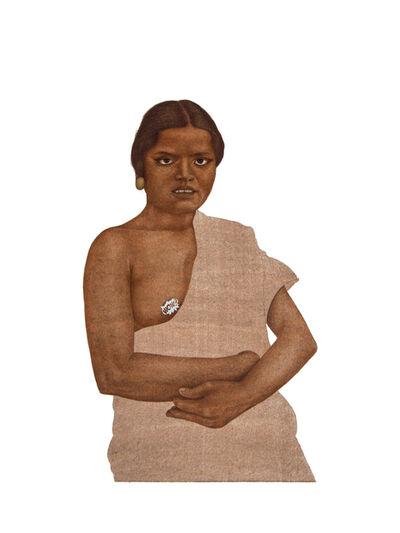 Muhammad Zeeshan, 'Nangeli  10', 2021