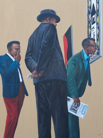 Zemba Luzamba, 'Art Critics and Judges', 2013-2014
