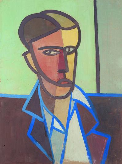 Tancredi, 'Untitled (Self-portrait) (Autoritratto)', 1948