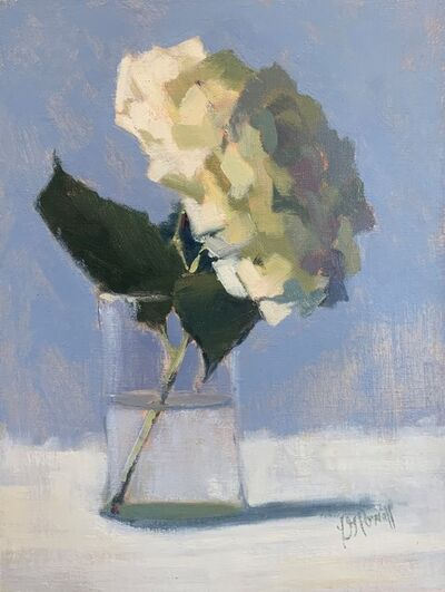 Lesley Powell, 'Hydrangea Looking Forward', 2019