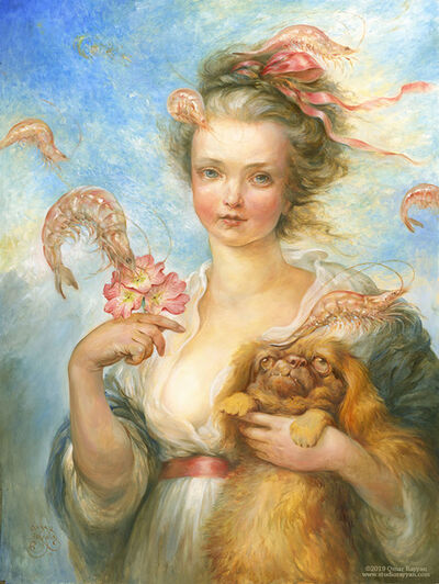 Omar Rayyan, 'Pekingese and Prawns', 2019