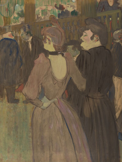 Henri de Toulouse-Lautrec, 'La Goulue and Her Sister', ca. 1892