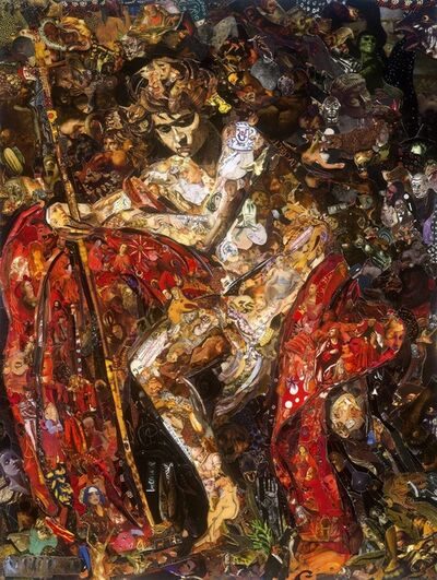 Vik Muniz, 'Saint John the Baptist in the Wilderness', 2018