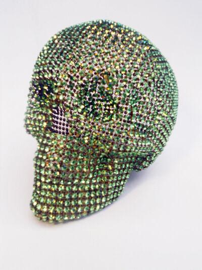Nicola Bolla, 'Vanities (Green Skull)', 1997-2004