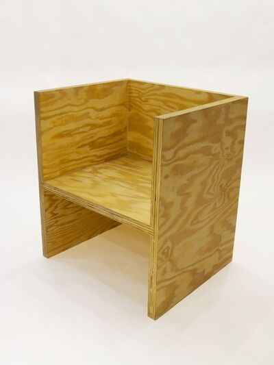 RO/LU, 'Cube Chair Ply', 2010